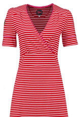 Tante Betsy Tante Betsy 1940s Auntie Breton Dress Red