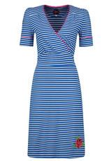 Tante Betsy Tante Betsy 1940s Auntie Breton Dress Blue