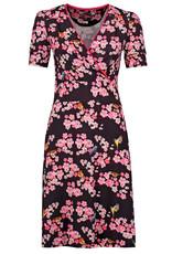 Tante Betsy Tante Betsy 1940s Auntie My Garden Dress Black