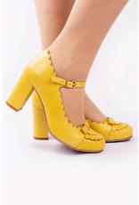 La Veintinueve La Veintinueve 1950s Penelope Mary Janes Yellow