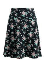 Blutsgeschwister Blutsgeschwister 1950s A Line Foxy Flower Skirt