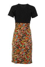 Lalamour Lalamour 1950s Icons Cross Neck Pencil Dress
