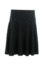 Lalamour Lalamour 1950s Pearly A Line Skirt Black