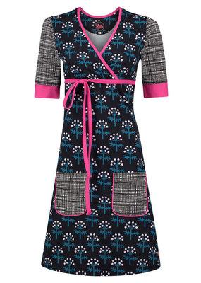 Tante Betsy Tante Betsy 1960s Garden Vilda Blommor Dress