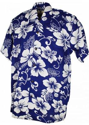 Karmakula Karmakula 1950s Tulsa Floral Shirt Blue