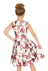 Hearts and Roses Hearts & Roses 50s Aphrodite Metallic Kids Dress