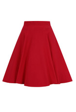 Hell Bunny Hell Bunny 1950s Gabby Skater Skirt Red