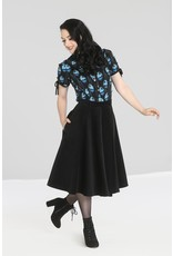 Hell Bunny SPECIAL ORDER Hell Bunny Jefferson Corduroy Skirt Black