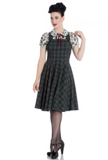 Hell Bunny Hell Bunny 1950s Peebles Pinafore Swing Dress
