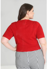Hell Bunny Hell Bunny 1950s Wendi Cardigan Red