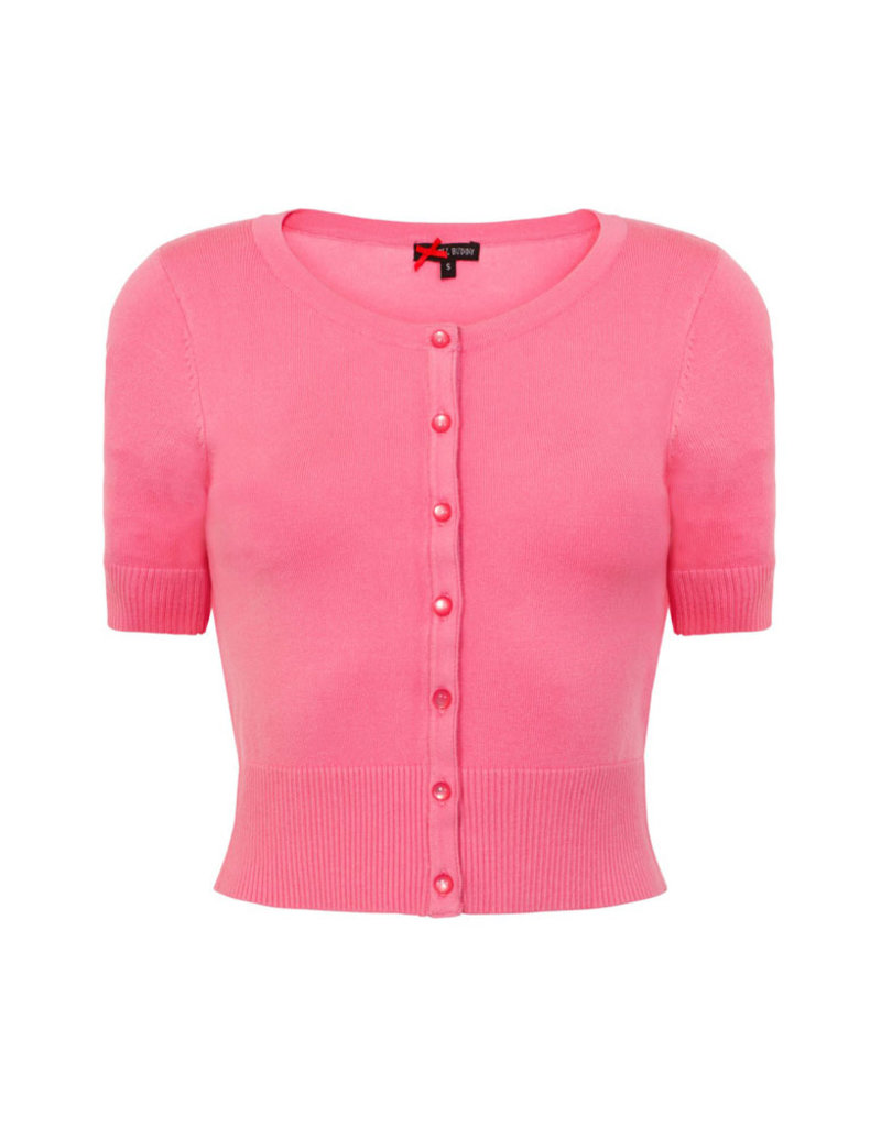 Hell Bunny PRE ORDER Hell Bunny Wendi Cardigan Pink