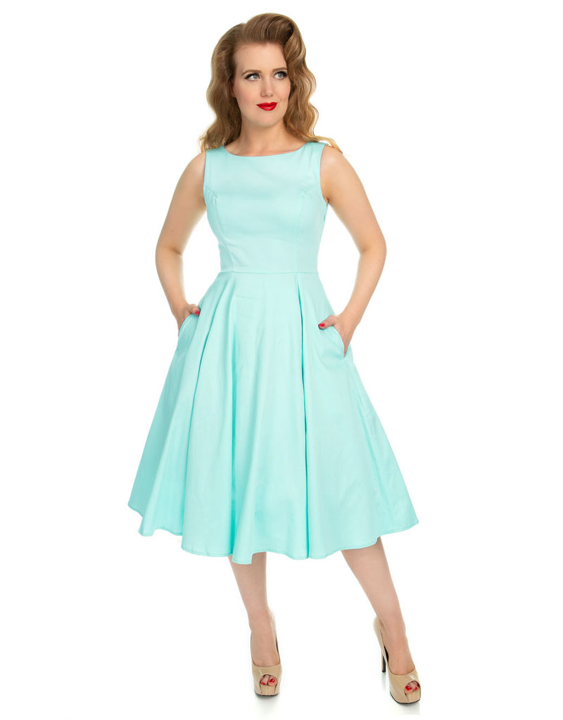 Hearts and Roses Hearts and Roses 1950s Stella Swing Dress Mint