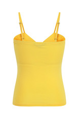Banned Dancing Days 1950s Wrap Front Top Yellow