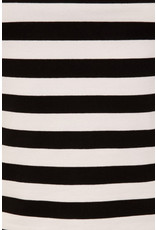 Hell Bunny Hell Bunny 1950s Caitlin Black White Striped Top