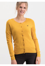 Blutsgeschwister Blutsgeschwister 1940s Save The Brave Waffle Cardy Mustard