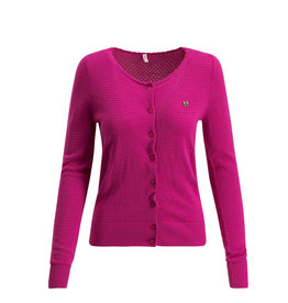 Blutsgeschwister Blutsgeschwister 1940s Save The Brave Waffle Cardy Pink