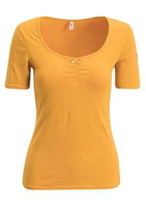 Blutsgeschwister Blutsgeschwister 50s Back to Mustard Shirt