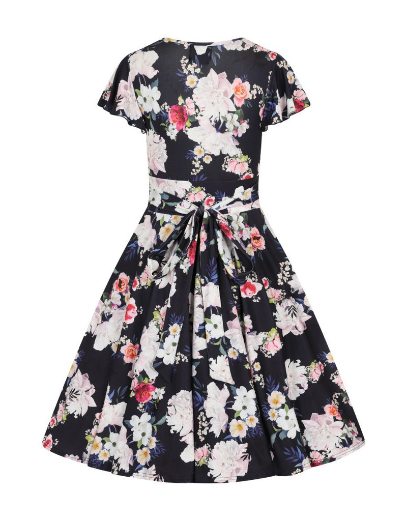 Hell Bunny Hell Bunny 1950s Tussy Mussy Floral Dress