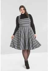 Hell Bunny Hell Bunny 1950s Frostine Pinafore Swing Dress