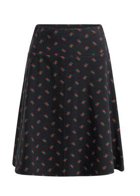 Blutsgeschwister Blutsgeschwister 1950s Tiny Heart A Line Skirt