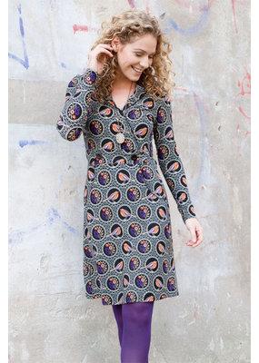 Lien & Giel Bakery Ladies Forrest Birdy Elephant Black Dress