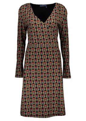 Lien & Giel Bakery Ladies Geometric Shine Retro Dress