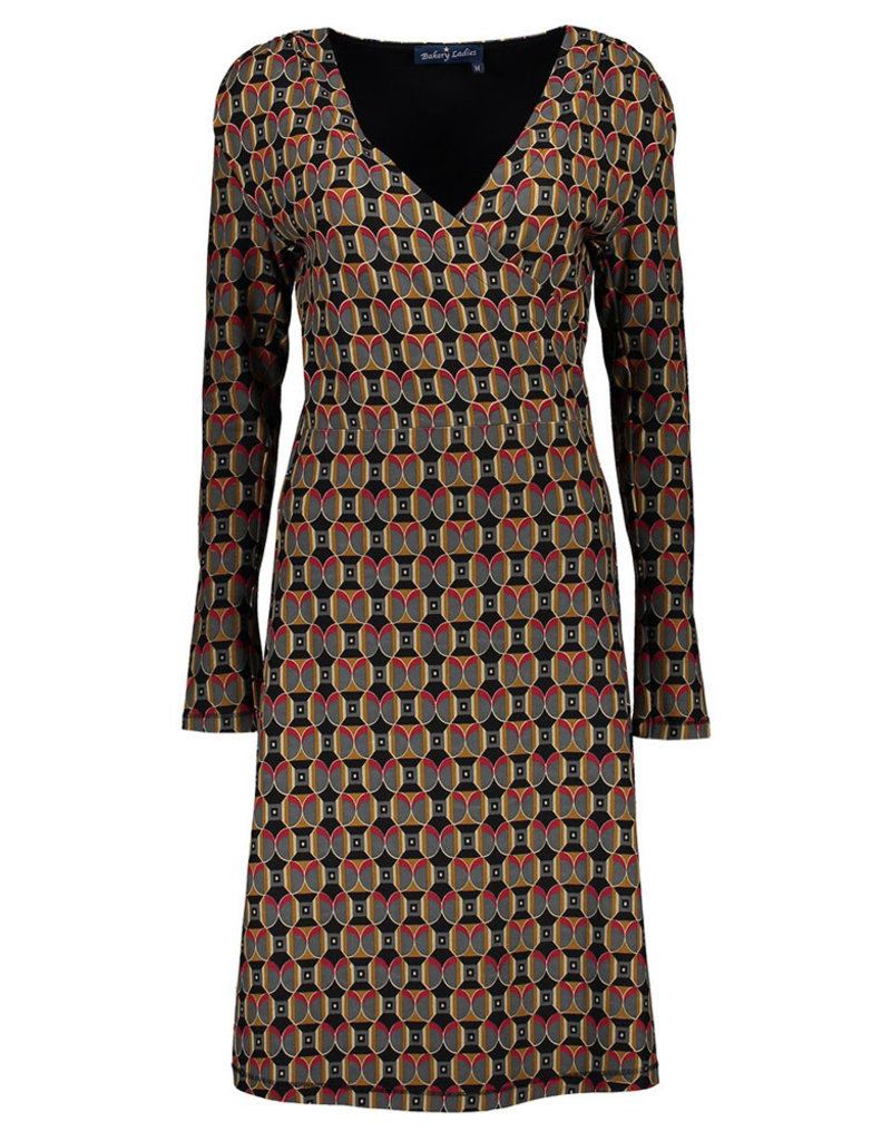 Lien & Giel Bakery Ladies Shine Dress Black