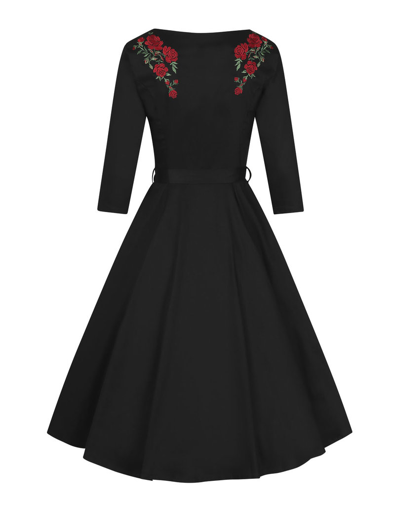 Hearts and Roses Hearts & Roses 1950s Mon Amour Swing Dress