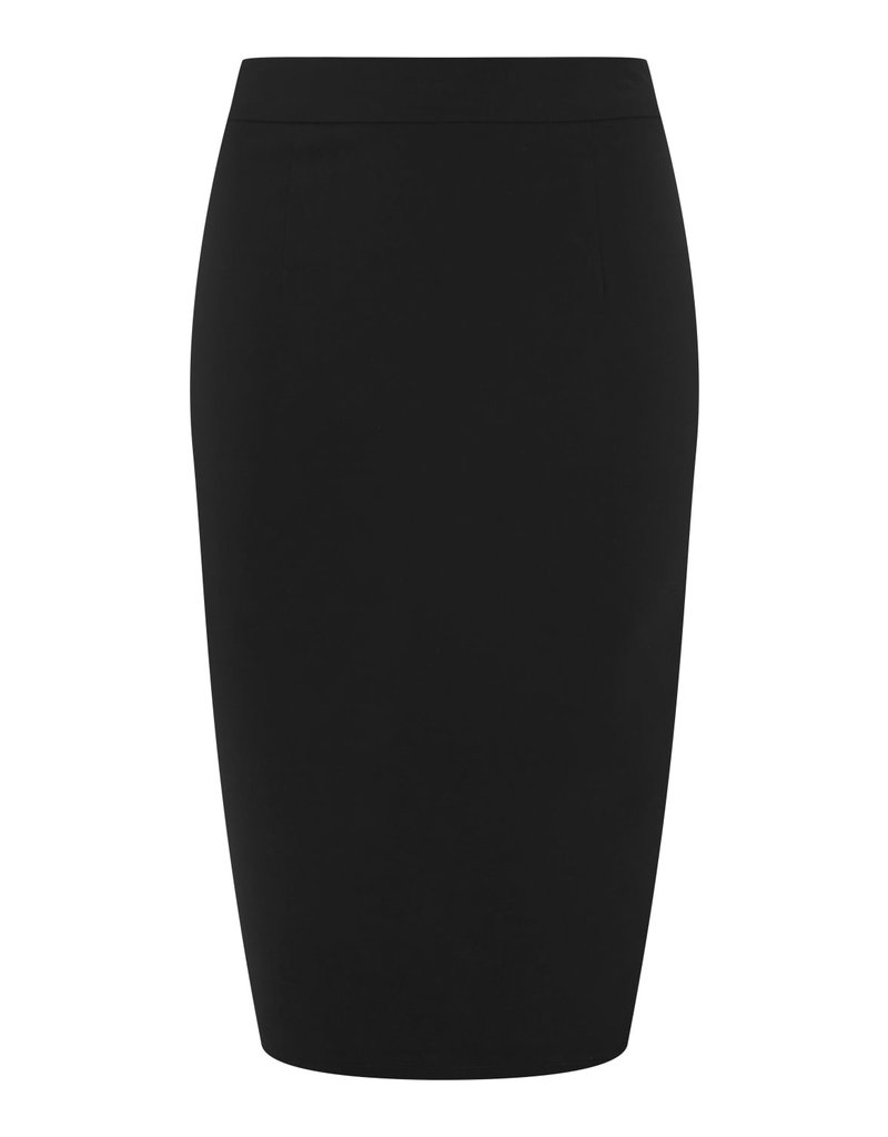 Collectif Collectif 40s/50s Polly Bengaline Pencil Skirt Black