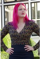 Lien & Giel Bakery Ladies Longsleeve Shirt Lydia Black