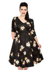Hearts and Roses Hearts and Roses 1950s Midnight Stardust Swing Dress
