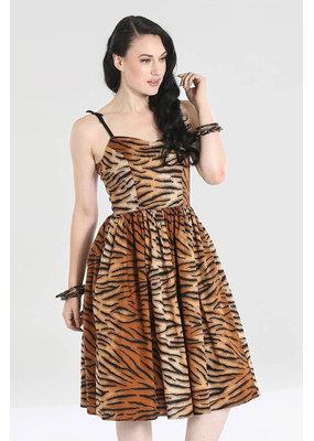 Hell Bunny Hell Bunny 1950s Tora Tiger Dress