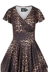 Hell Bunny SPECIAL ORDER Hell Bunny Eartha Leopard Dress