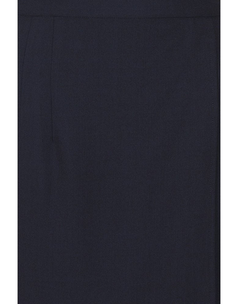 Collectif Collectif 1940s Helenor Plain Pencil Skirt