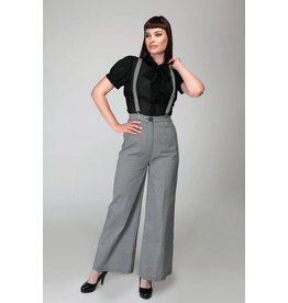 Collectif Collectif 1950s Glinda Houndstooth Trousers