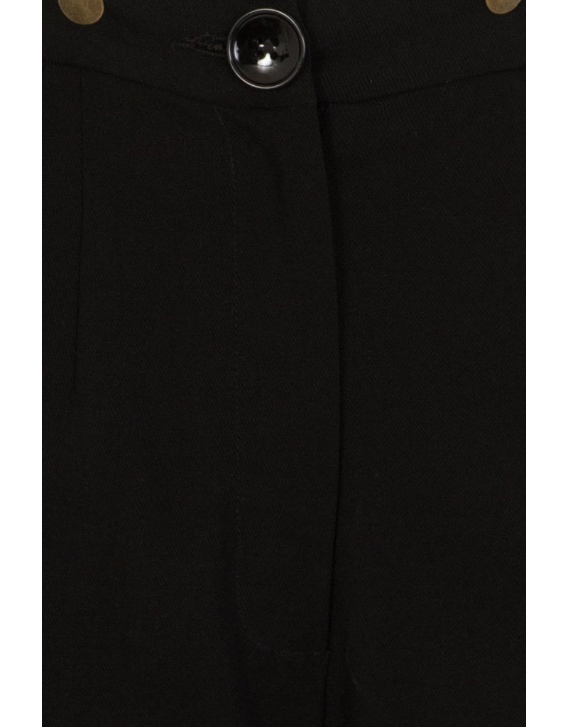 Collectif Collectif 1950s Glinda Swing Trousers Black