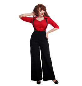 Collectif Collectif 1950s Glinda Swing Trousers