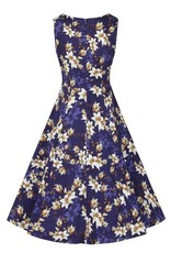 Lady V London Lady Vintage 1950s Golden Magnolia Jasmine Dress