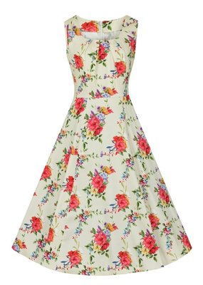 Lady V London Lady Vintage 1950s Summers Bloom Jasmine Dress