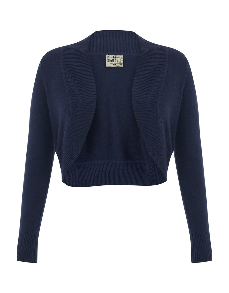 Collectif Collectif 1950s Jean Bolero Navy