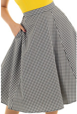 Hearts and Roses Hearts & Roses 1950s Gloria Gingham Skirt
