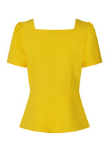 Hearts and Roses Hearts & Roses 1950s Beatrice Yellow Top