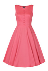 Hearts and Roses Hearts and Roses 1950s Pink Donna Swing Dress