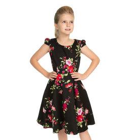 Hearts and Roses Hearts & Roses Kids 50s Royal Ballet Dress Black