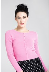 Hell Bunny PRE ORDER Hell Bunny Paloma Cardigan Pink