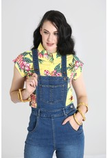 Hell Bunny PRE ORDER Hell Bunny 1940s Betty Bee Dungarees