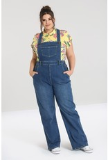 Hell Bunny SPECIAL ORDER Hell Bunny 1940s Betty Bee Dungarees