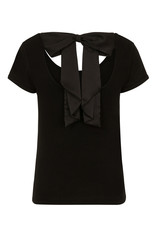 Hell Bunny PRE ORDER Hell Bunny Celine Bow Top Black