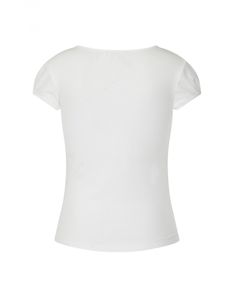 Hell Bunny SPECIAL ORDER Hell Bunny Jersey Mia Top Ivory