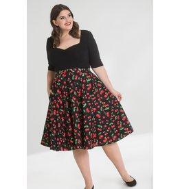 Hell Bunny Hell Bunny Sweetie Cherry 50s Skirt